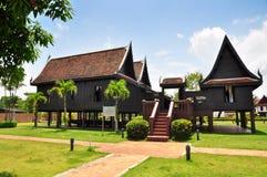 家庭风格泰国传统 库存图片