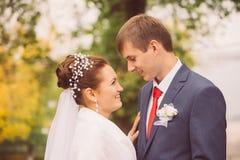 年轻家庭,婚礼,新婚佳偶 图库摄影