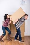 家庭移动 免版税库存图片