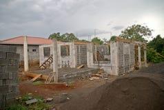 家庭建筑-全视图 免版税库存图片