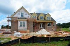 家庭建设中, Bogart,乔治亚 免版税库存图片