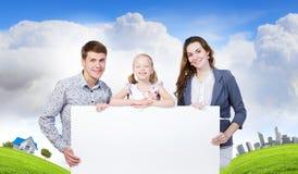年轻家庭 库存图片