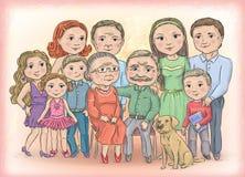家庭 图库摄影