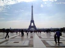 巴黎&家庭 库存照片