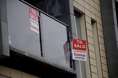 家或公寓房耕种销售 免版税图库摄影