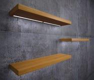 家或商店的家具木架子 向量例证