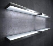 家或商店的家具LED架子 皇族释放例证
