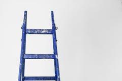 画家木头梯子 库存照片