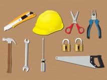 家用工具加工改造工程建筑传染媒介 库存照片