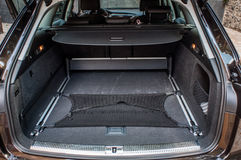 家用汽车的后车箱 免版税图库摄影