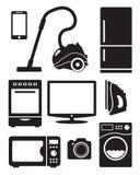 家电和电子 免版税库存图片