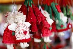 家的圣诞节安排 免版税库存图片