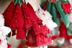 家的圣诞节安排 库存照片