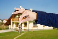 从家的钥匙 免版税库存图片