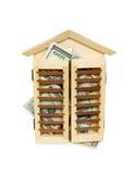 家重新贷款 库存图片