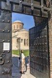 家长式大教堂在皮聪大,以纪念传道者安德烈 库存图片