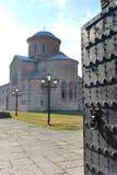 家长式大教堂在Pitsunda 免版税库存照片