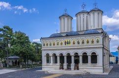 家长式大教堂布加勒斯特 免版税库存图片