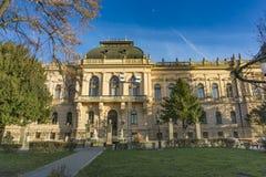 家长统治法院在斯雷姆斯基卡尔洛夫奇,塞尔维亚 库存图片
