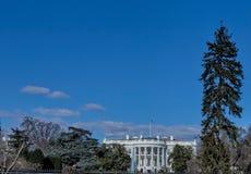 总统家--白宫 免版税库存图片