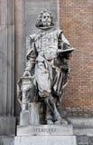 画家Velà ¡ zquez的雕象 免版税库存图片