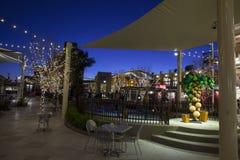 容器公园在拉斯维加斯哄骗区域, 2013年12月10日的NV 免版税库存图片