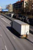 容器卡车 图库摄影