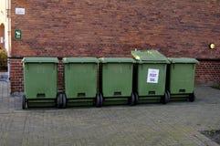 容器回收 免版税库存照片