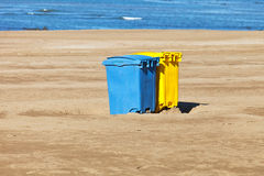 容器垃圾 免版税库存照片