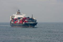 容器大海运船 图库摄影