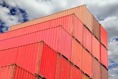 容器港口采购管理系统 免版税库存图片