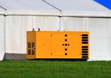 容器用能源厂的工业设备 库存图片