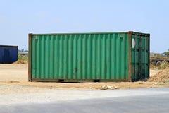 容器绿色 免版税库存照片