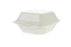 容器聚苯乙烯泡沫塑料 库存图片