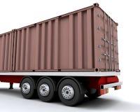 容器运费 皇族释放例证