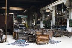 容器金属废料 库存图片
