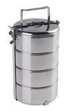 容器食物不锈钢 免版税图库摄影