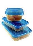 容器食物 免版税库存照片