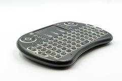 容易的伸手可及的距离的电视无线键盘 免版税库存图片