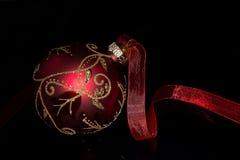 容易的圣诞节编辑红色导航 图库摄影