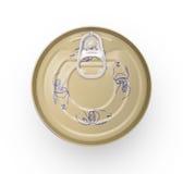 容易的开放食物罐头 免版税图库摄影