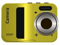 容易的现代照相机 免版税库存图片