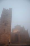 宽容世纪教会第十四medievel 基耶萨马特里切在埃里切,西西里岛 免版税图库摄影