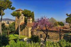 宽容修道院的大教堂在西班牙 免版税库存照片
