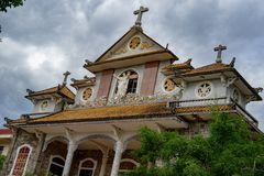 宽容修道院, Thien修道院 免版税库存照片