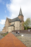 宽容圣Martins教会,在莱茵河的Emmerich 免版税库存照片