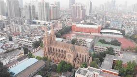 宽容大教堂在广州,中国 影视素材