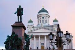宽容大教堂在赫尔辛基 库存图片