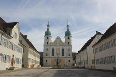 宽容大教堂在Arlesheim 库存照片