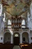 宽容大教堂在Arlesheim 免版税图库摄影
